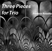 [ceci est la jaquette du disque 'Three Pieces for Trio']